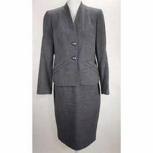 Signature by Larry Levine Womans Skirt Blazer Set